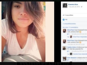 Daniela - vítima do acidente na Mogi Bertioga