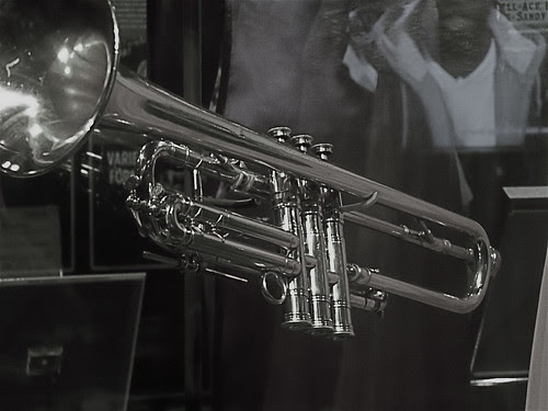 47  142/365  Louis Armstrong's Trumpet