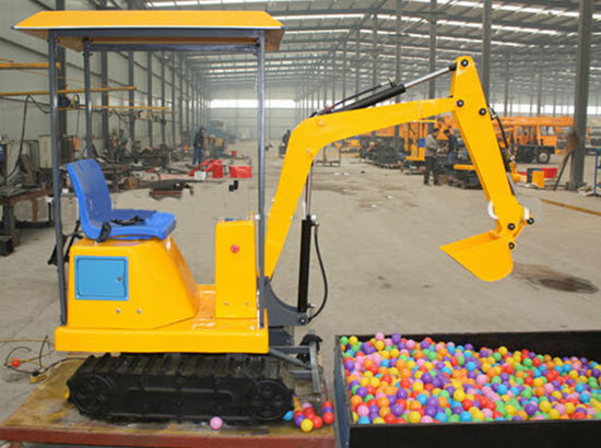 KIds Coin Operated Excavator Ride
