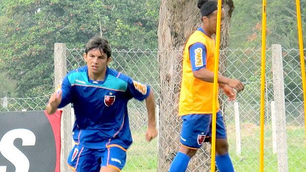 Kaká e Ronaldinho no treino do Flamengo (Foto: Janir Junior / GLOBOESPORTE.COM)
