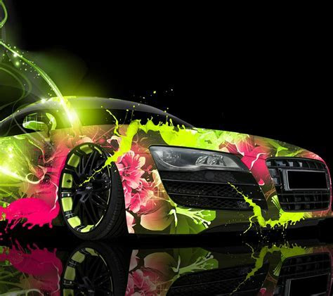 Vehicle car paint   wallpaper.sc SmartPhone