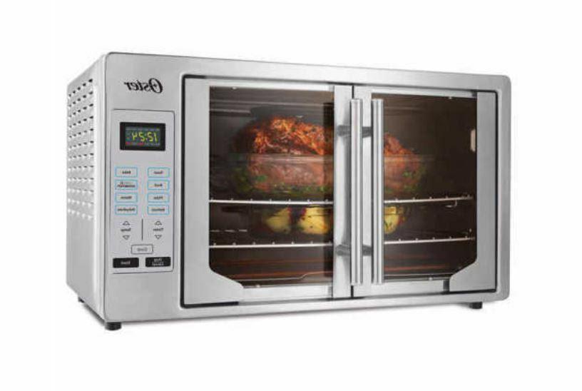 New French Door Oster Digital Countertop Toaster Oven