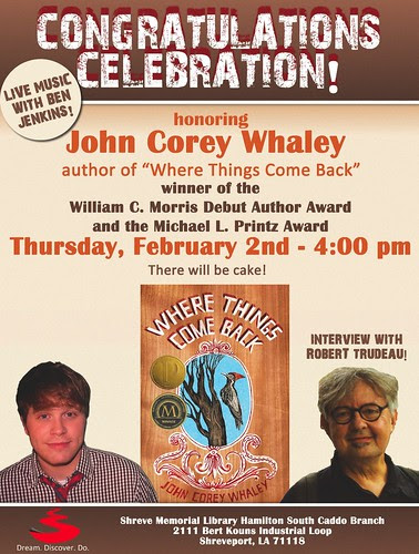Award-winning author Corey Whaley by trudeau
