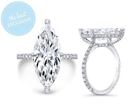 Katie Cassidy's Marquise Diamond Engagement Ring