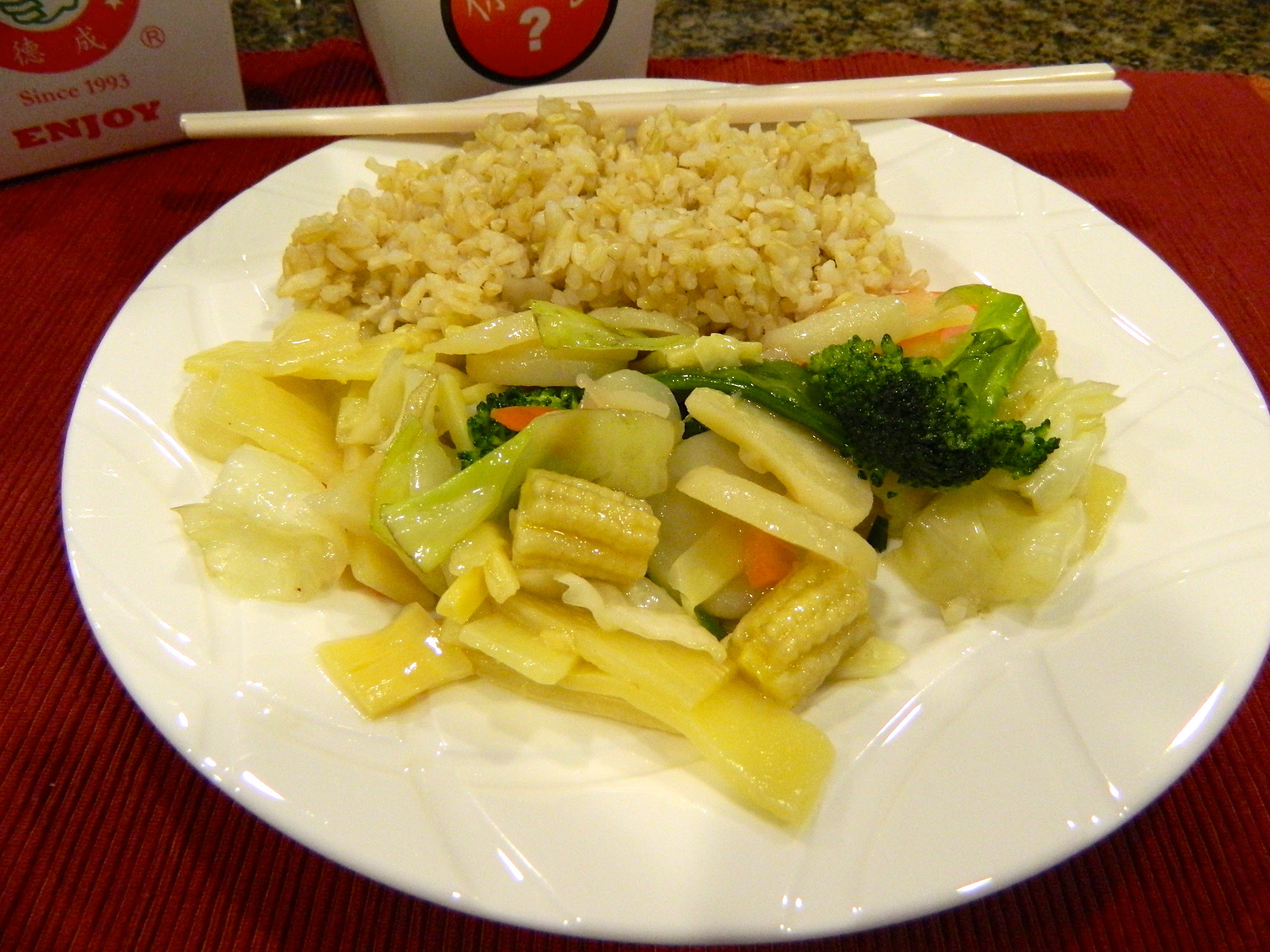 Making Healthy Options: Take-Out Chinese Food - Paola's ...