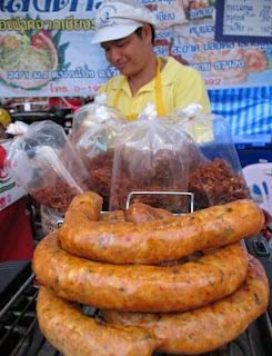 Sai Ua - spicy Chiang Mai sausage