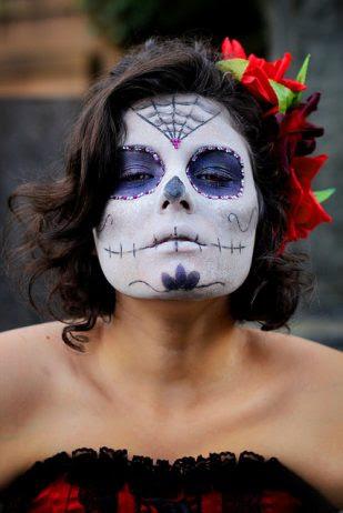 75 Ideas Geniales De Maquillajes De Catrinas Mexicanas Top 2018