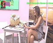 Mara Cerqueira Gomes sensual no Olá Maria
