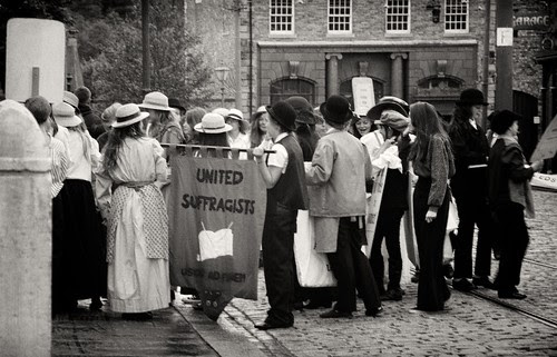 United Suffragists at Beamish