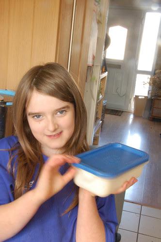 Making ice cream 8
