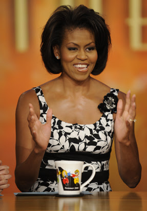 Michelle Obama at 'The View'