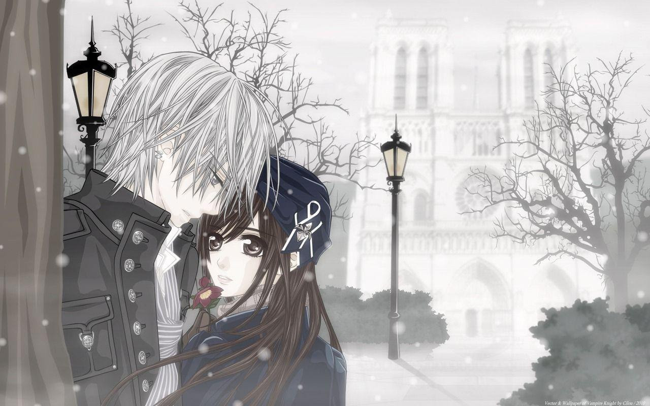 Cute Anime Couple Wallpapers Wallpaper Cave
