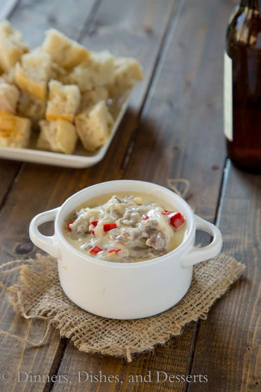 Philly Cheesesteak Dip | Dinners, Dishes, and Desserts