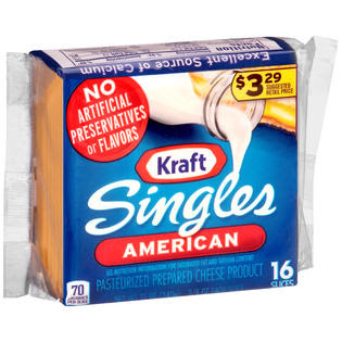 Kraft American Pre-Priced $3.29 Cheese Slices 12 OZ PACK ...
