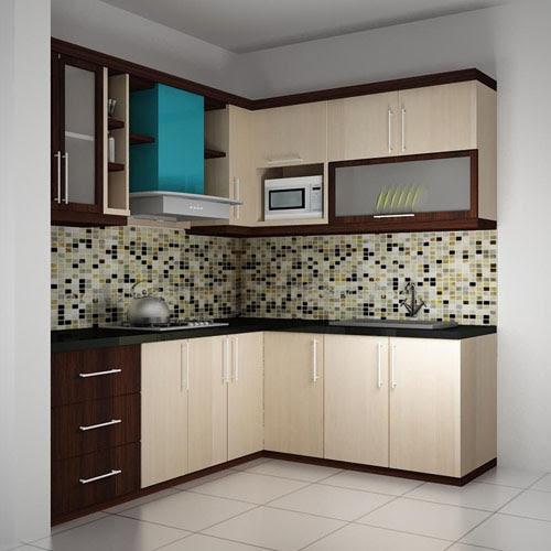 desain kitchen set untuk dapur kecil  Rumah Idaman Modern