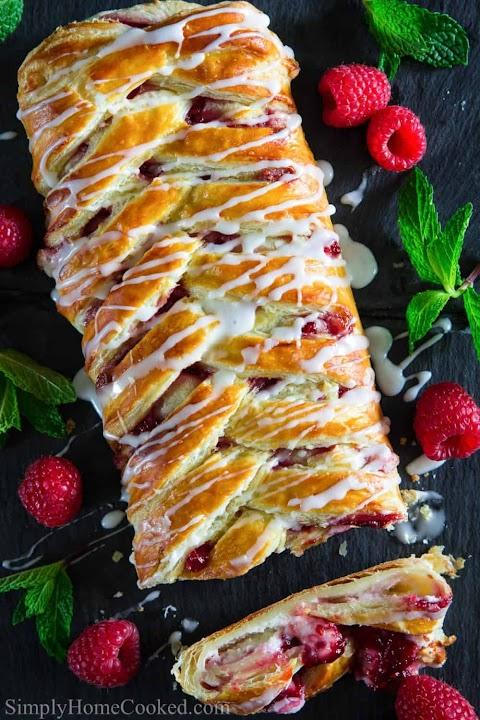 Raspberry Cheese Danish Recipe From Scratch
