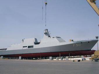 "Корвет ""Хейбелиада"". Фото ВМС Турции"