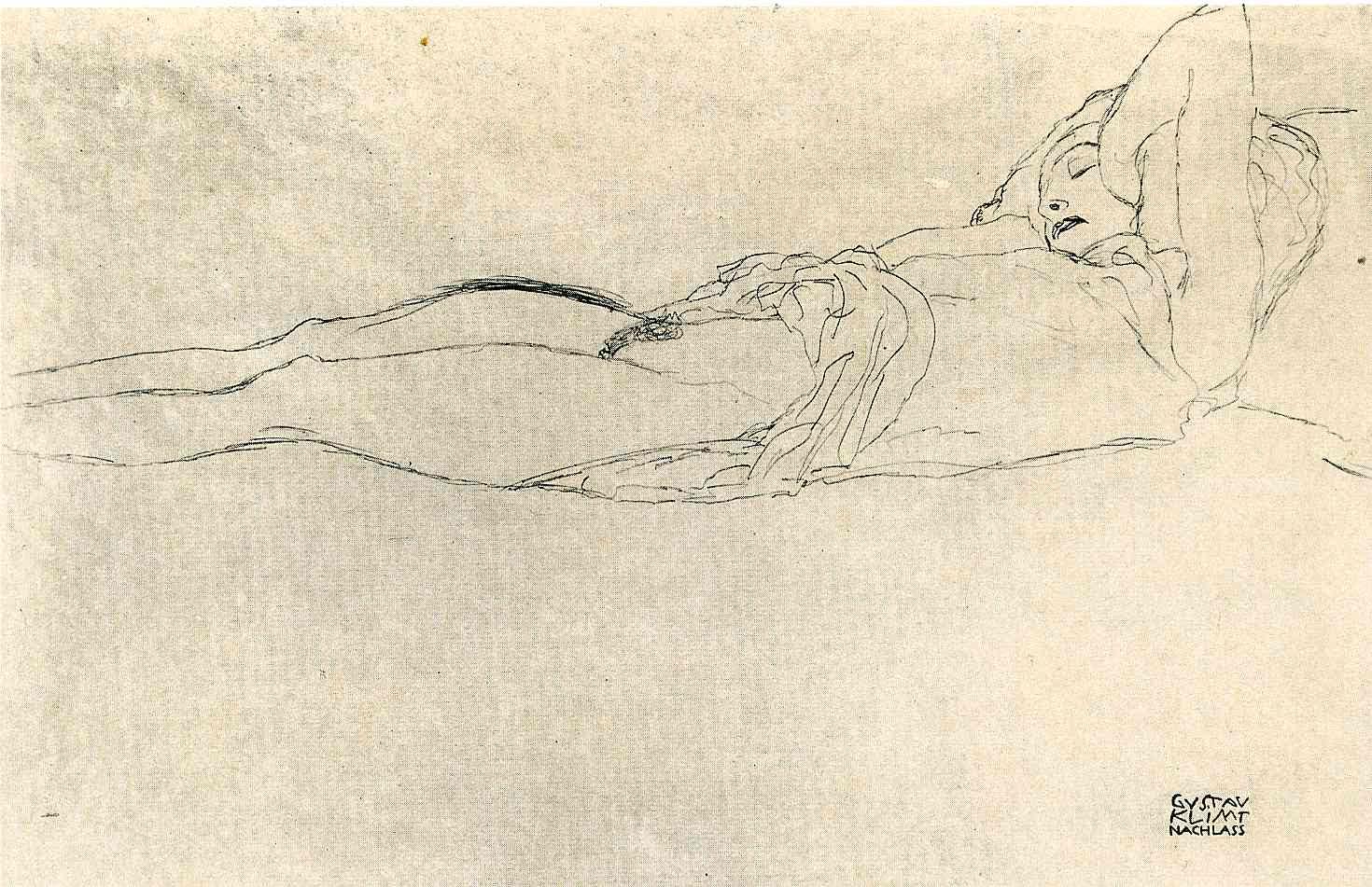 Gustav Klimt erotica sensual18