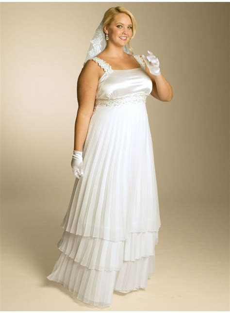 17 Best images about Plus Size Vow Renewal Dresses on