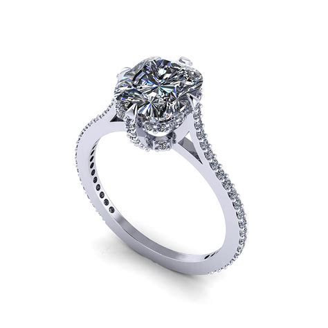 Cushion Diamond Engagement Ring   Jewelry Designs