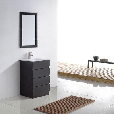 Sleek Contemporary Bathroom Vanity | Wayfair