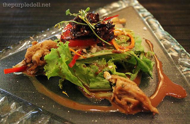 Adobo Pigeon Salad