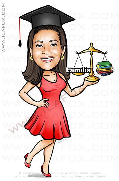 caricatura formatura, caricatura formanda, caricatura direito, caricatura personalizada, by ila fox