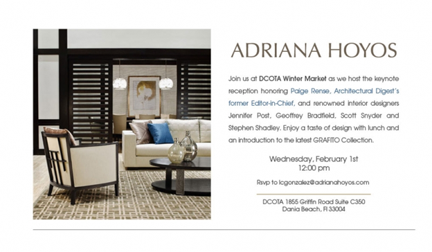 South Florida Nights Magazine Opening Reception Of Adriana Hoyos