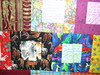 Detail from 2006: The Year in a Quilt