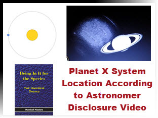 Planet X System Location According to Astronomer Disclosure Video