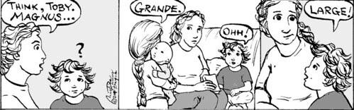 Home Spun comic strip #142