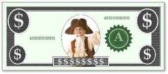Free Custom Printable Play Money Template