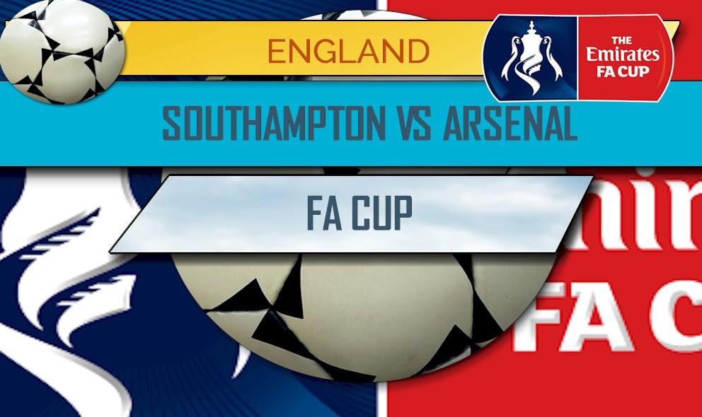 FA Cup Score Results 2017: Southampton vs Arsenal Score
