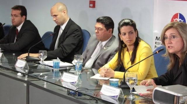 Membros de cinco órgãos realizaram fiscalizações sobre irregularidades
