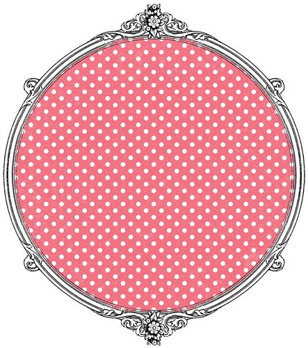 poinsettia tiny distressed polka dot paper SAMPLE