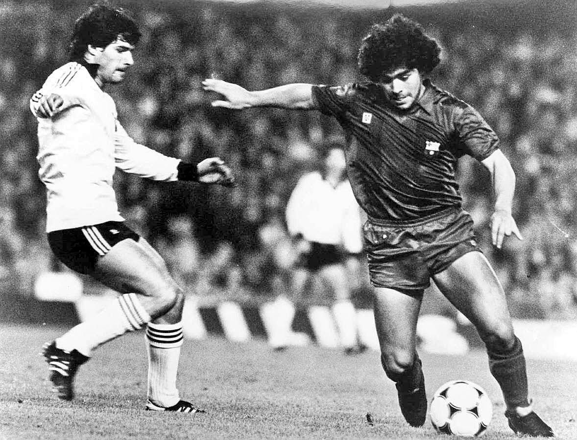 Watch The Barcelona Bilbao Fight From The 1984 Copa Del ...