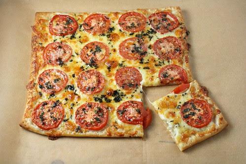 Three Cheese Tomato Tart