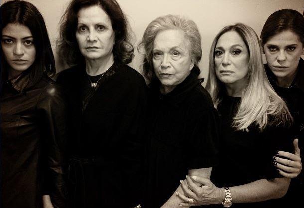 Carol Castro, Rosamaria Murtinho, Nathalia Timberg, Susana Vieira e Barbara Paz (Foto: Instagram/Reprodução)