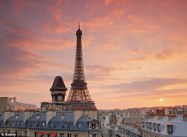 Officials in Paris will be hoping the like of the Eiffel Tower will continue to see an influx of tourists to view it