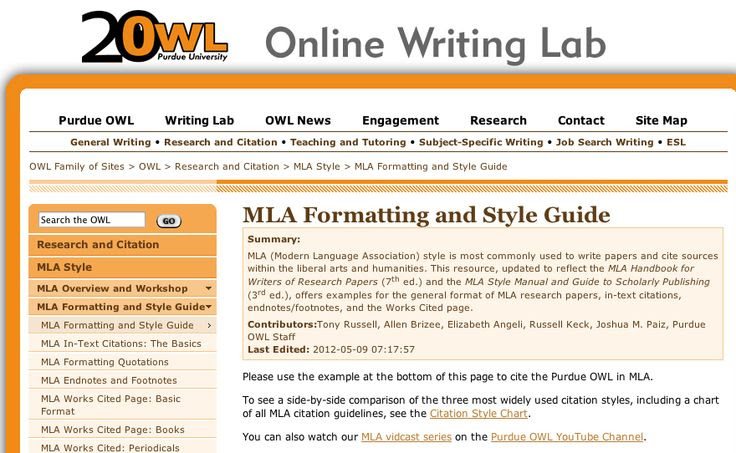 How To Wiki 89 How To Cite A Website Apa Purdue Owl