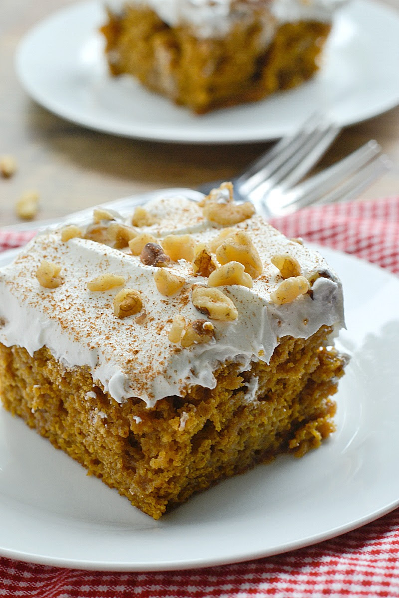 Better Than Anything Pumpkin Spice Cake