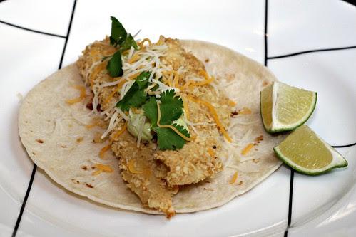 Crispy Margarita Chicken Tacos