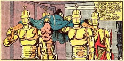Doc Strange #52 panel