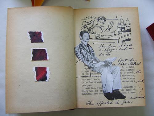 Sue's altered book