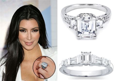 KIM KARDASHIAN REFUSES TO GIVE HER BACK HER ENGAGEMENT