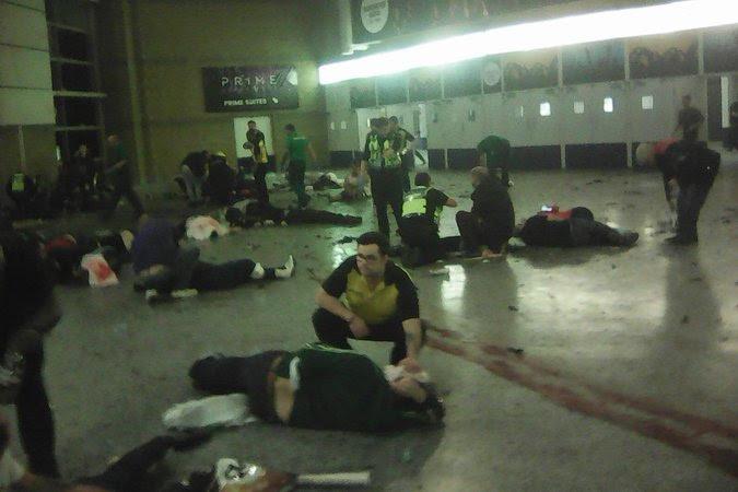 Feridos no atentado no show de Ariana Grande, em Manchester