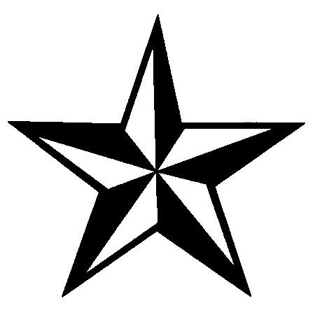 Black An Red Nautical Star Clipart Panda Free Clipart Images
