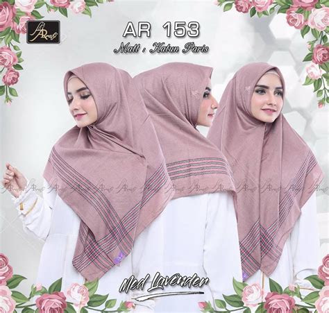 hijab arrafi segi empat nusagates