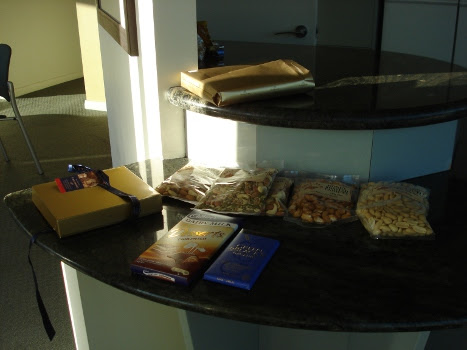 Convention apartment snack bar