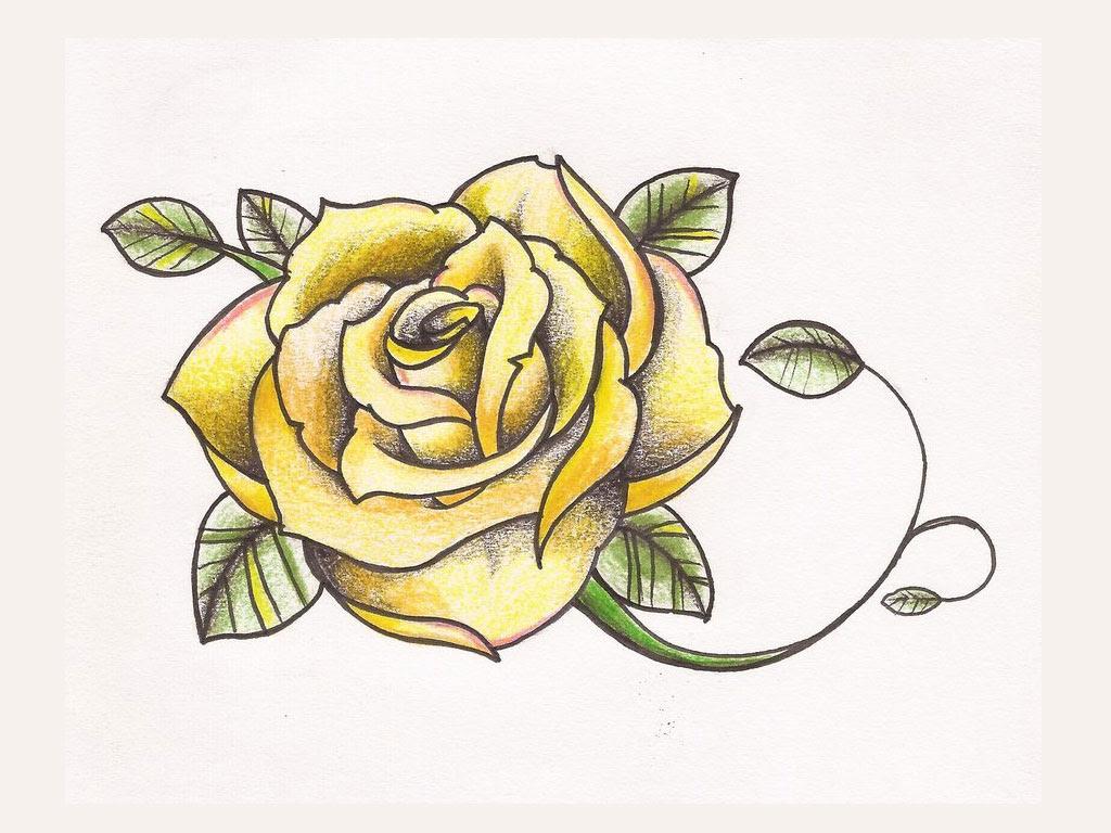 Rose Tattoo Images Designs